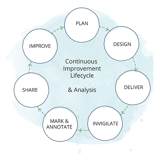 Assessment project lifecycle